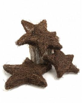 Дървени плетени звезди